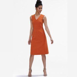 MM LaFleur Orange Brick color Sz 14 Dress